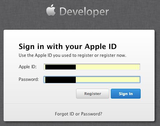 Safari限定とは汚いなさすがAppleきたない-- Sign in with Apple Developer Center --