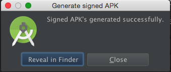 GenerateSignedAPK6